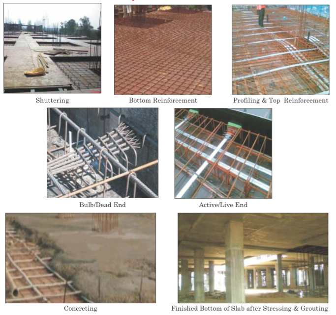 Building Post Tensioned Slab