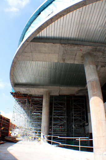 Building Post Tensioned Slab